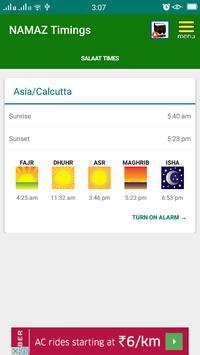 Salaat Times-Muslim prayer times location wise apk screenshot