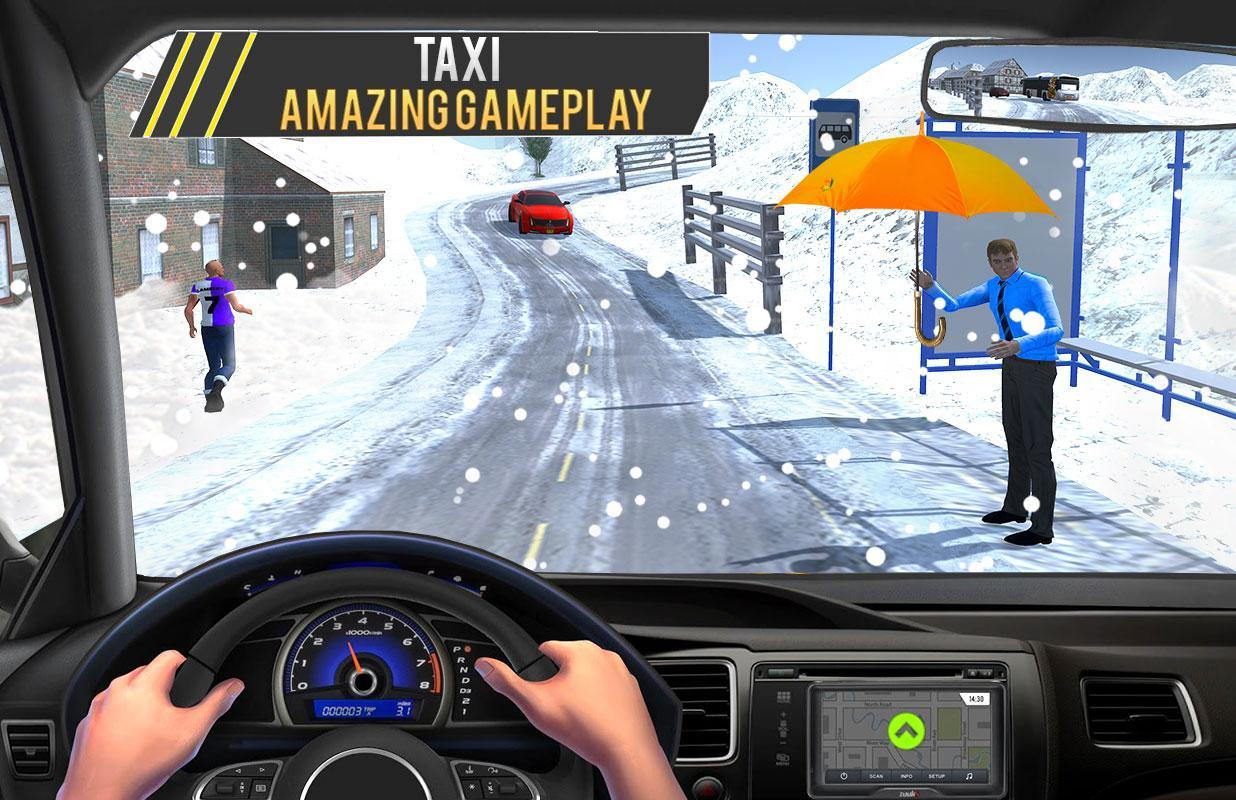 Crazy Taxi Driver 2018: City Cab Driving Simulator for Android - APK