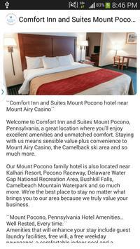 Comfort Inn Mount Pocono PA apk screenshot