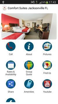 Comfort Suites Jacksonville FL poster