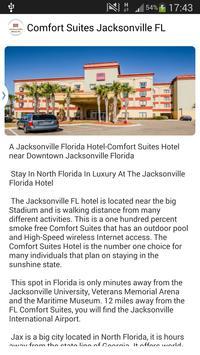 Comfort Suites Jacksonville FL apk screenshot