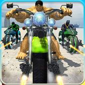 Incredible Monster Superhero Bike Battle icon