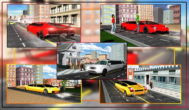 Limo Driving Simulator apk screenshot