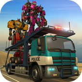 X Ray Monster Robot Transport icon