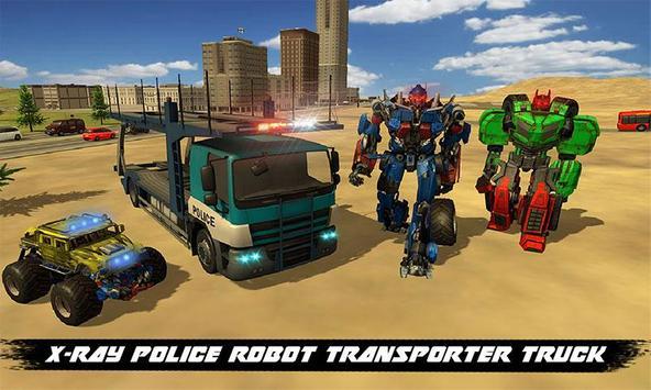 X Ray Monster Robot Transport poster