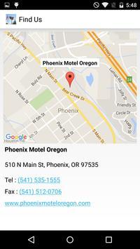 Phoenix Motel Oregon apk screenshot