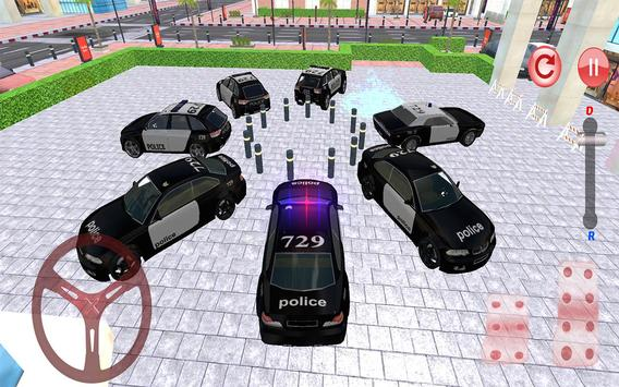 Police Car Parking: NYPD Cop Driver 3D screenshot 11