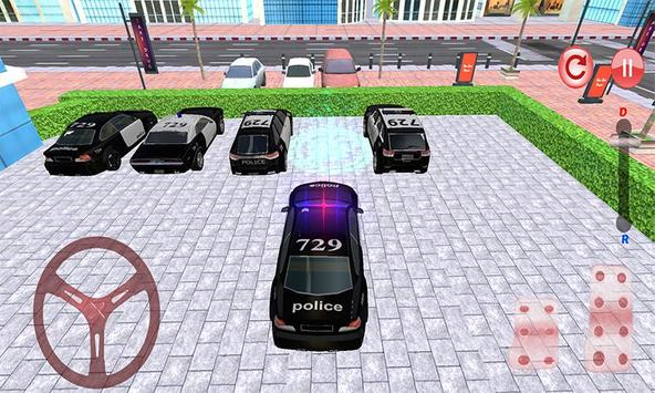Police Car Parking: NYPD Cop Driver 3D screenshot 1