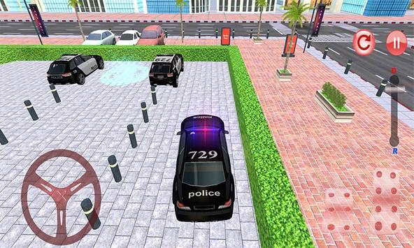 Police Car Parking: NYPD Cop Driver 3D screenshot 2