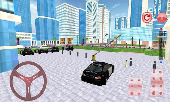 Police Car Parking: NYPD Cop Driver 3D screenshot 3