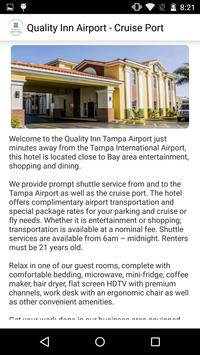 Quality Inn Airport Tampa apk screenshot