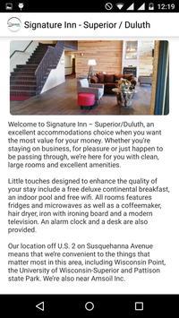 Signature Inn Superior-Duluth screenshot 1