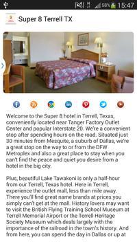 Super 8 Terrell TX apk screenshot