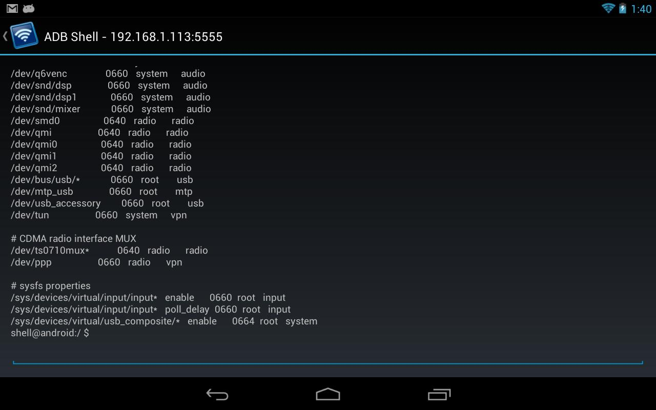 Remote ADB Shell for Android - APK Download
