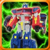 Toy Optimus Prime Puzzle Games icon