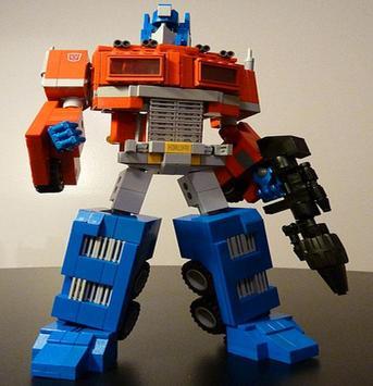Toy Optimus Prime Puzzle Games poster