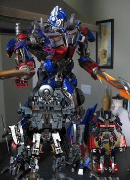 Toy Optimus Prime Puzzle Games screenshot 1