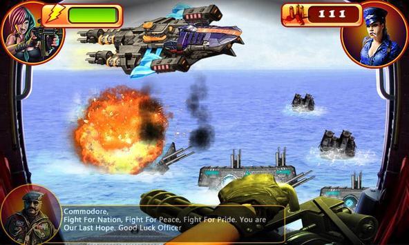 Army Final Wars Navy Attack screenshot 3