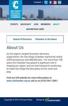 San Diego Regional Chamber screenshot 1