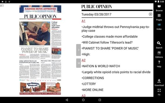 Public Opinion Print Edition apk screenshot