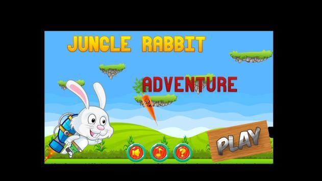 Jungle Rabbit Adventure apk screenshot