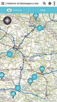 L'Ardenne, la Champagne à vélo apk screenshot