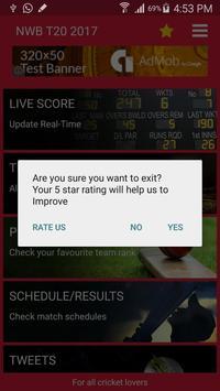 NatWest t20 Blast NWB, 2017 Live Cricket Score apk screenshot