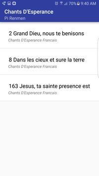Chants D'Esperance screenshot 13