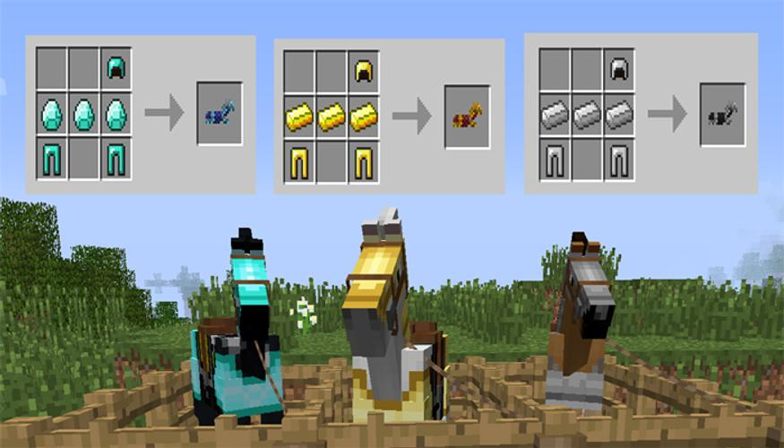 Mod Craftable Saddle Horse Pe For Android Apk Download