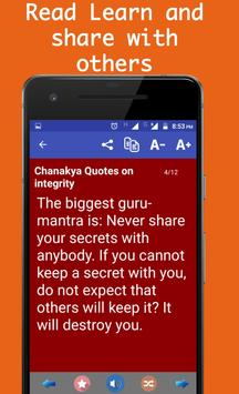 Chanakya Sayings - Best Quotes apk screenshot