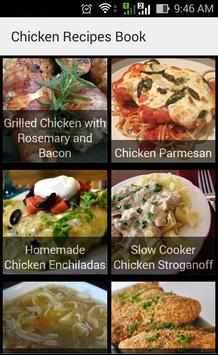 Chicken Recipes Book poster