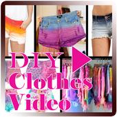 DIY Clothes Video icon