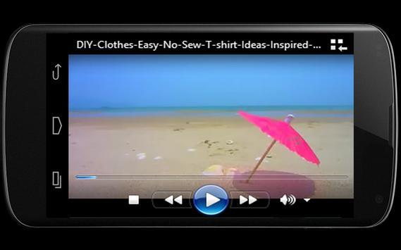 DIY Clothes Video screenshot 5