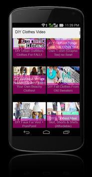 DIY Clothes Video screenshot 1
