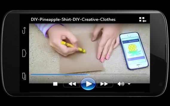 DIY Clothes Video screenshot 2