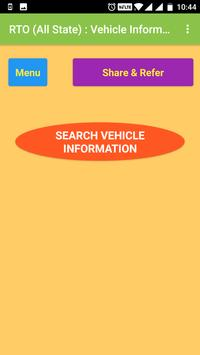 RTO - Indian Vehicle Information poster