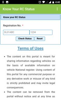 RTO - Indian Vehicle Information screenshot 2