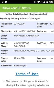 RTO - Indian Vehicle Information screenshot 3