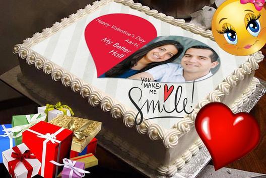 Birthday & Anniversary Cake Photo Frame With Name screenshot 5