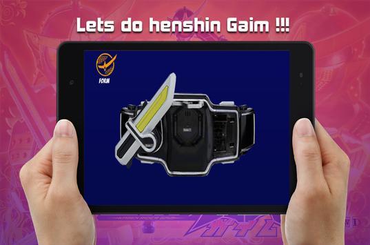 Henshin Belt sim for DX Sengoku Driver screenshot 8
