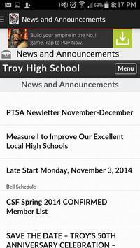 Troy High apk screenshot