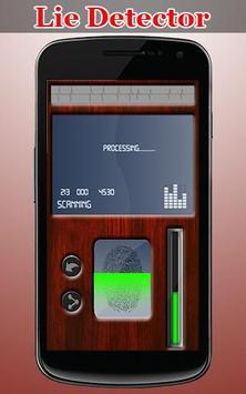Lie Detector Simulator Prank screenshot 1