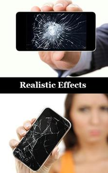 Cracked Screen Prank poster