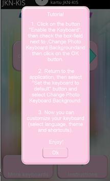Change Keyboard Photo Background apk screenshot