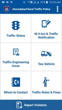 Ahmedabad Rural Traffic Police poster
