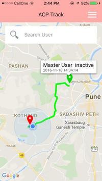 ACP Track - Tracking App apk screenshot