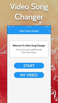 Video background music changer-Change sound poster