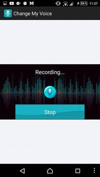 Change My Voice apk screenshot