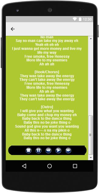 The Best Music & Lyrics Runtown for Android - APK Download