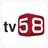 tv 58 icon